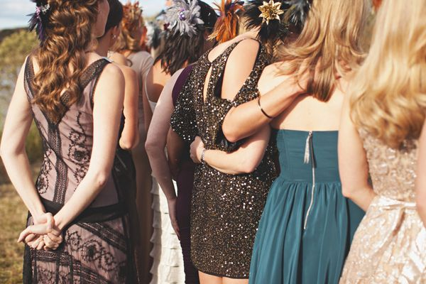 glitter-bridesmaid-dresses
