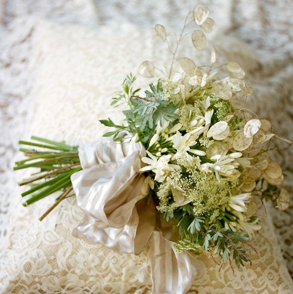 A Lacy Bridal Bouquet