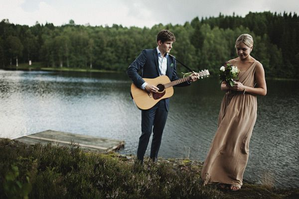 Swedish Wedding by the Water