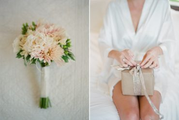 Peach Wedding Bouquet