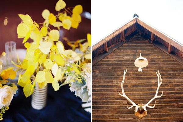 Yellow Leaf Wedding Ideas
