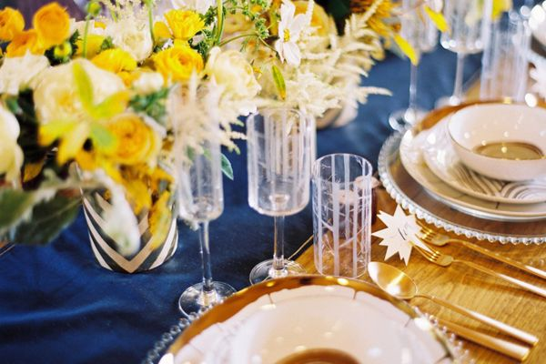 Yellow Wedding Centerpiece Ideas