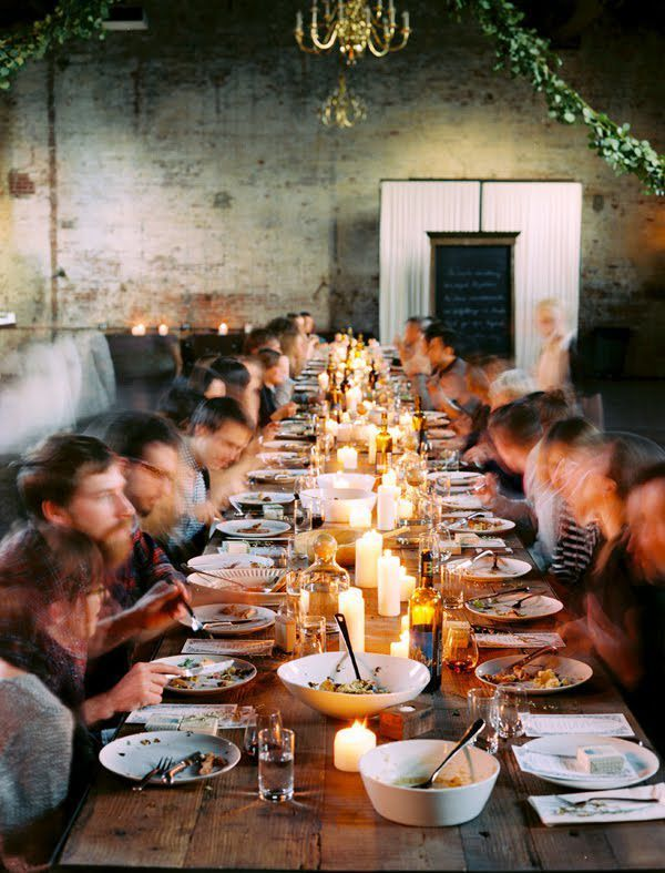 Brooklyn Dinner Party Once Wed : brooklyn warehouse wedding from www.oncewed.com size 600 x 787 jpeg 275kB