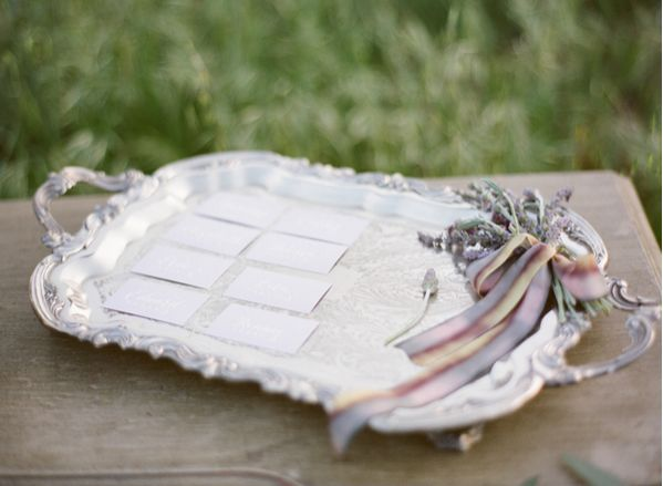 Diy Wedding Escort Card Ideas