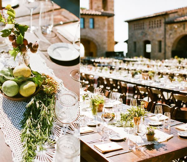 natural-wedding-reception-decor-old-california-tuscany-fruit-herbs1