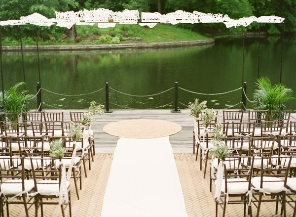 Chic Brooklyn Boathouse Wedding