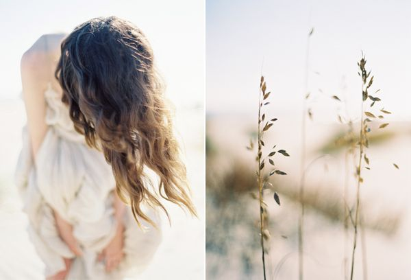 Beach Wave Hair Sea Oats Beach Wedding