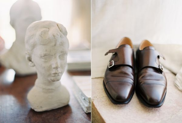 Brown Groomsmen Wedding Shoe Ideas