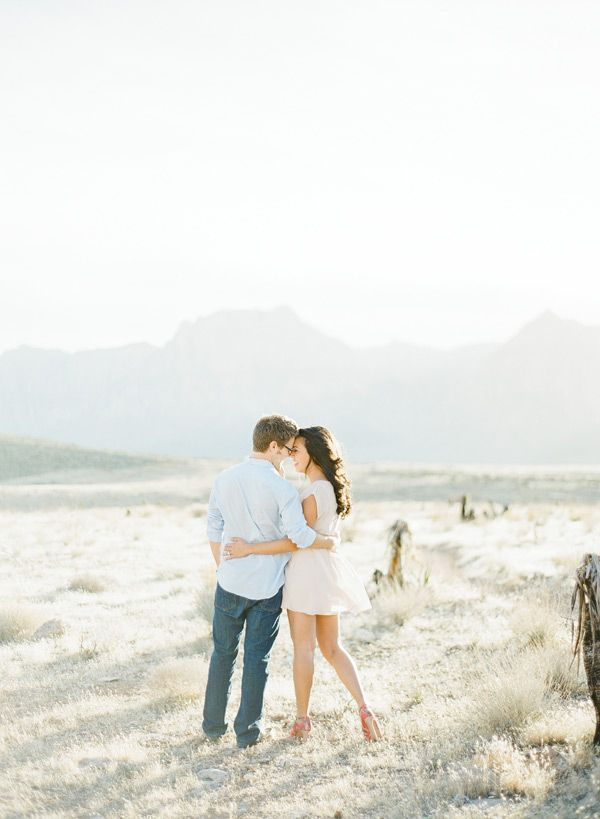 Desert Engagement Session