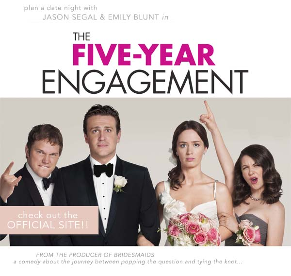 The Five Year Engagement Once Wed