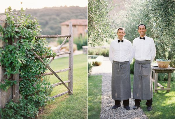 Italian Destination Wedding Servers Gate