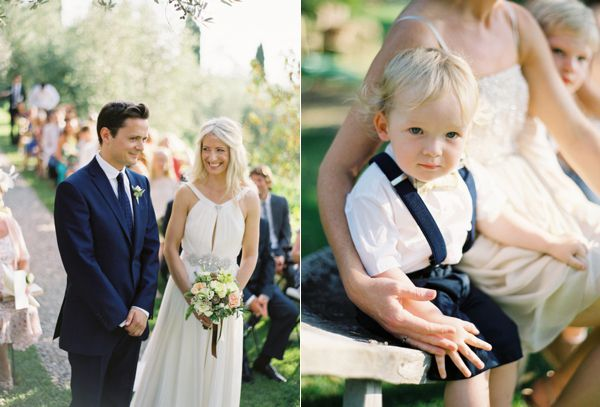 Navy Groom Suit Ring Bearer