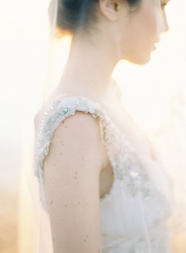Once Wed Jose Villa Claire Pettibone Joy Thigpen Veil Sunrise