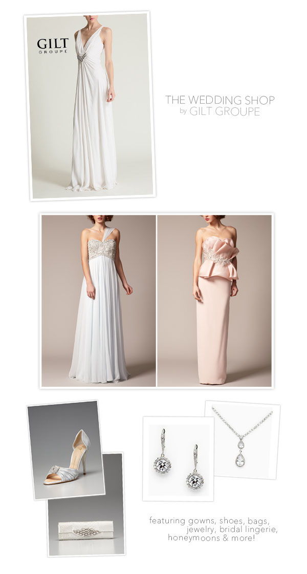 Gilt Groupe: The Wedding Shop