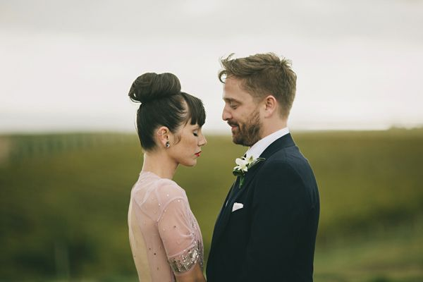 Top Knot Wedding Bun