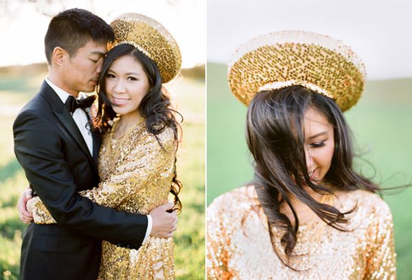 Traditional Vietnamese Bride and Groom - Once Wed