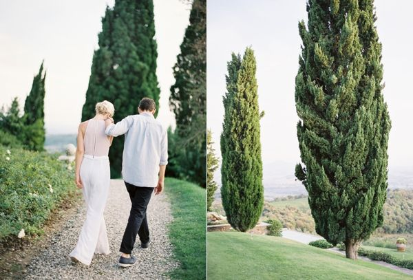 Engagement Shoot Jose Villa Couple Neutral Italy Trees