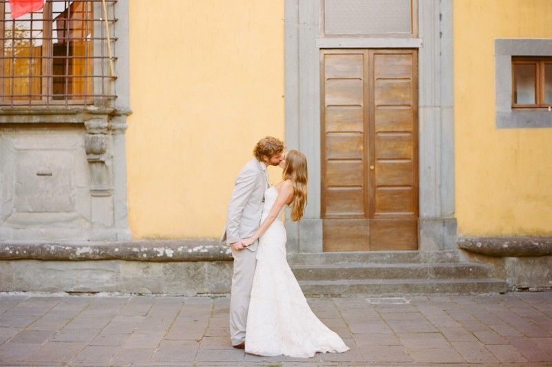 Exquisite Italian Village Wedding