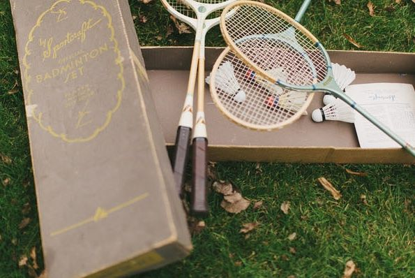 great-gatsby-wedding-badminton-game-wedding-reception-games