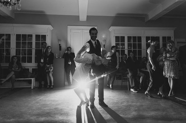 Great Gatsby Wedding First Dance Reception Bride Groom Swing Dance