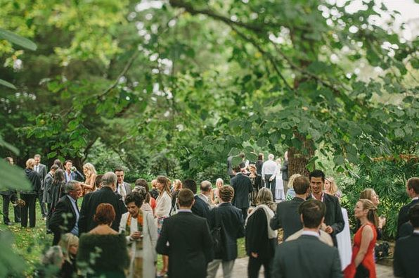 Great Gatsby Wedding Garden Outdoor Ceremony Hopewood Country House Gardens