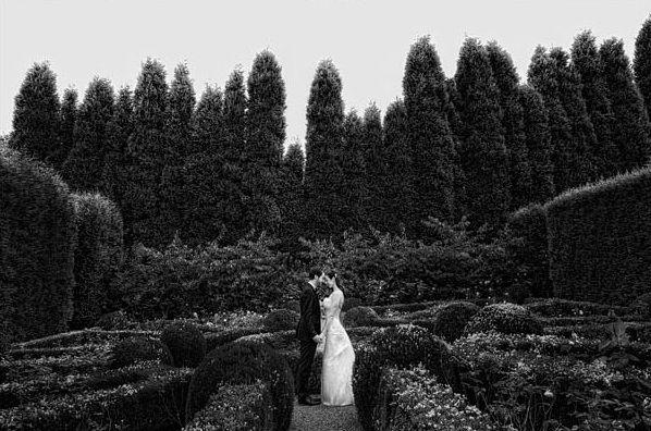 Great Gatsby Wedding New South Wales Gardens Ceremony