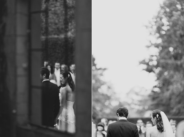 Greaty Gatsby Wedding Ceremony Hopewood Country House Australia Garden Wedding