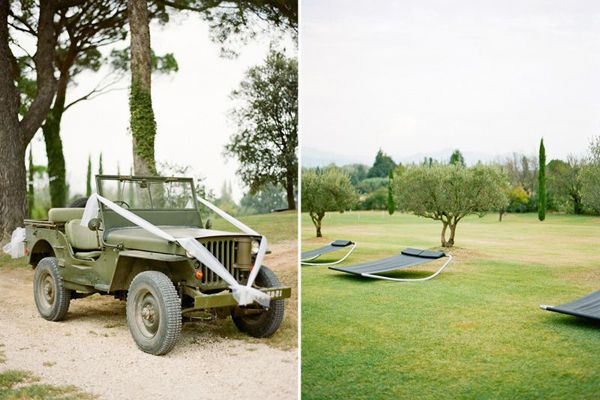 Green Wedding Jeep Ideas