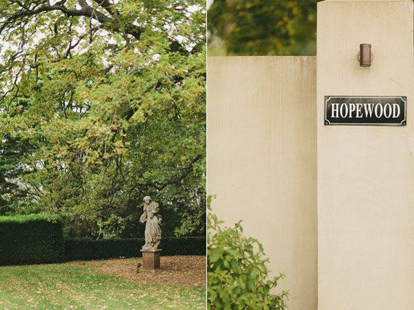 Hopewood Country House Estate Wedding Venue Australia Garden