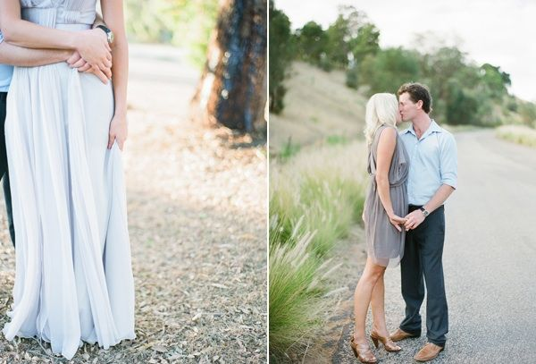 Jemma Keech Australia Engagement Grey Dress