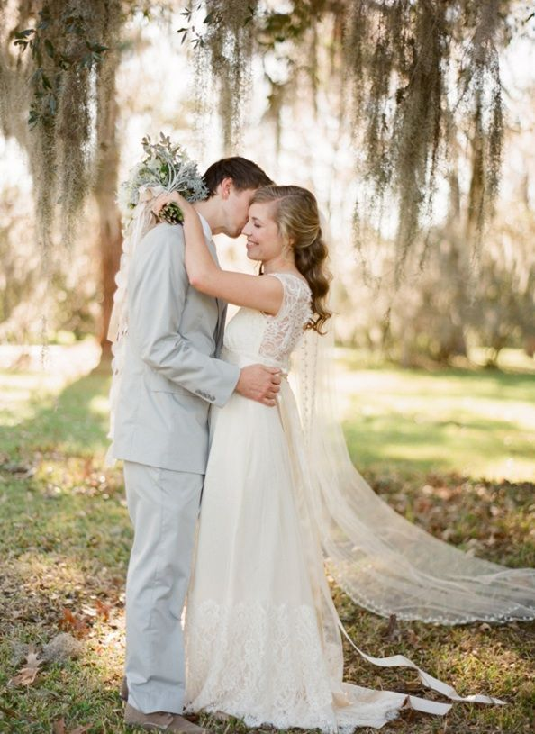 Magnolia Plantation Charleston Winter Wedding Claire Pettibone