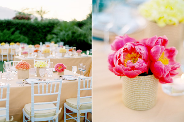 Vibrant Palm Springs Wedding