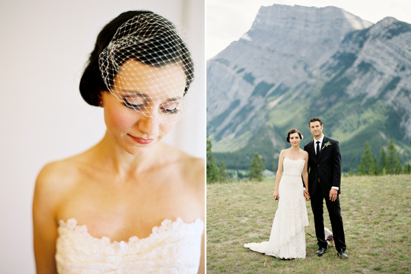 rustic-mountainside-wedding-bride-groom-car