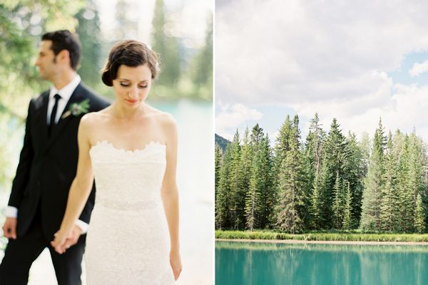 rustic-mountainside-wedding-lake-mountains-banff