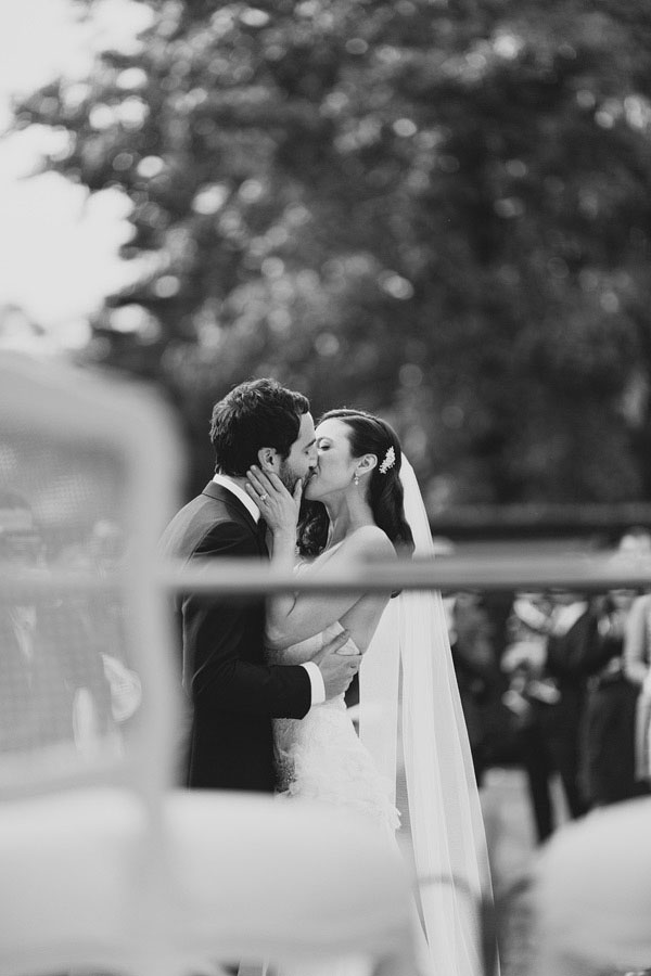 Wedding Day Kisses Greaty Gasby 20s Wedding Estate Australia