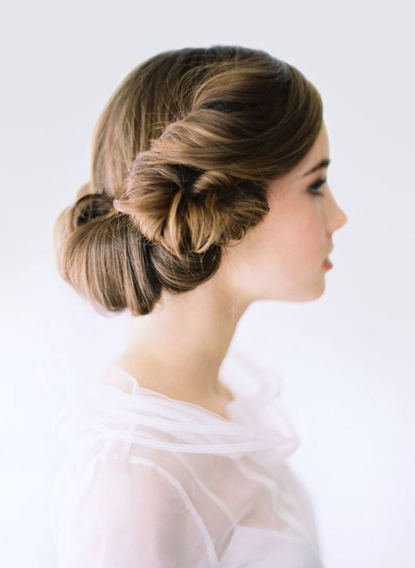 Wedding Hair Updo Ideas Formal Elegant Diy Tutorial