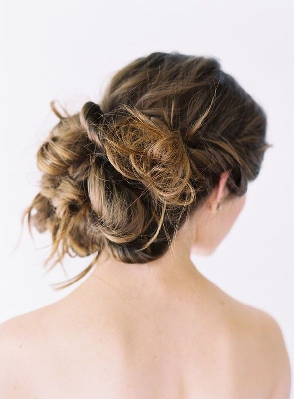 Wedding Hair Updos Natural Casual Wedding Hairstyles