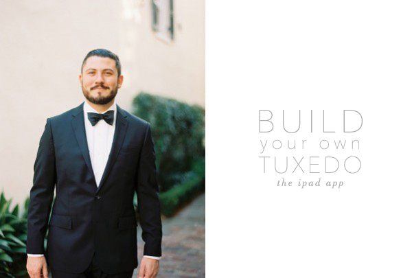 the tuxedo builder the ipad app once wed
