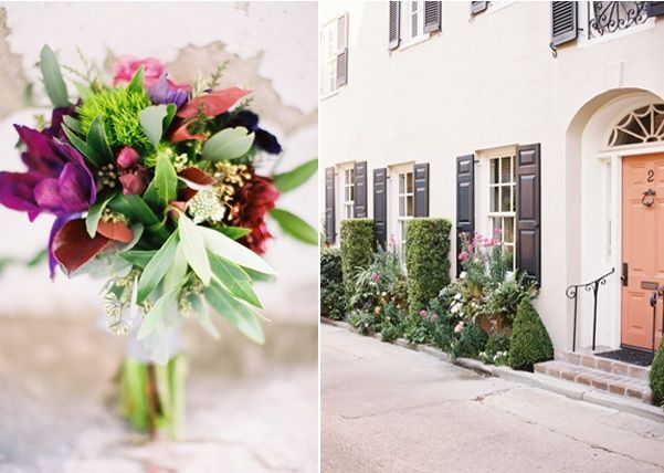 Bridal Bouquet Charleston Outdoor Wedding