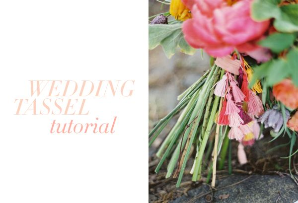 DIY Tassel Wedding Decoration Ideas Tutorial