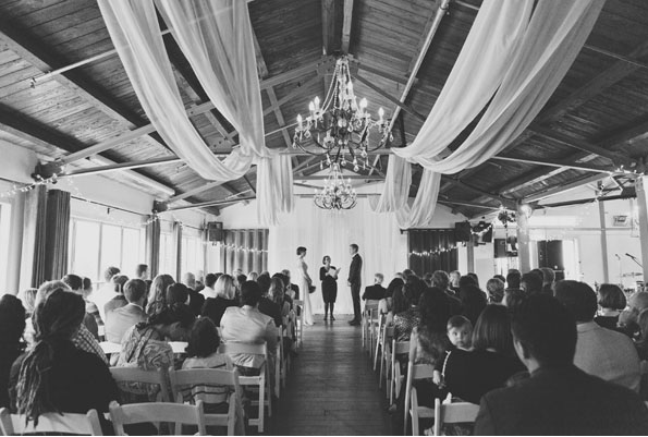 New Zealand Wedding Ceremony Indoors