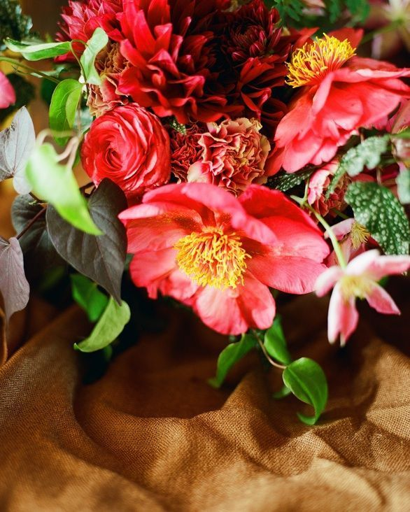Fall Wedding Flower Ideas Once Wed