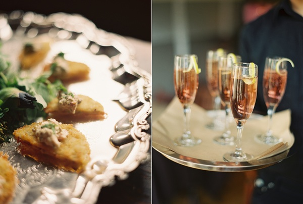 Once Wed Launch Party Sun In My Belly Appetizers Champagne