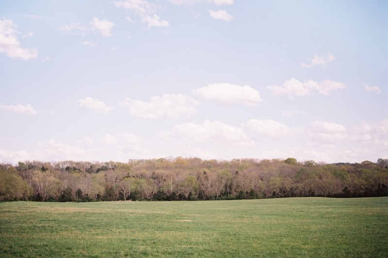 Tennessee Open Fields Engagement Photo Location