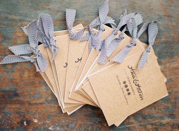 wedding-programs-paper-goods-brown-blue-diy