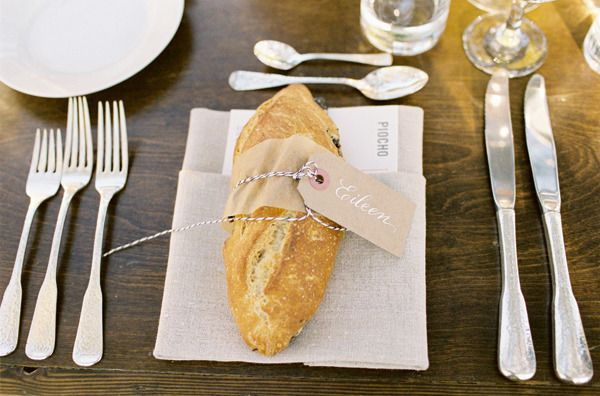 Bread Place Setting Ideas