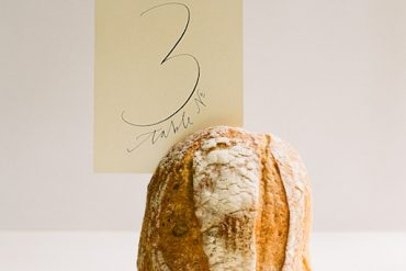 Bread Table Number Ideas