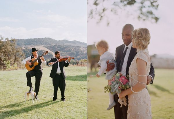 Elopement With A Gypsy Soul Ceremony Music Ringbearer Bridal Bouquet California