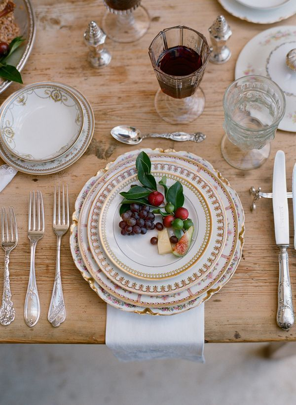 An elopement with a carefree spirit part ii once wed for Wedding table setting