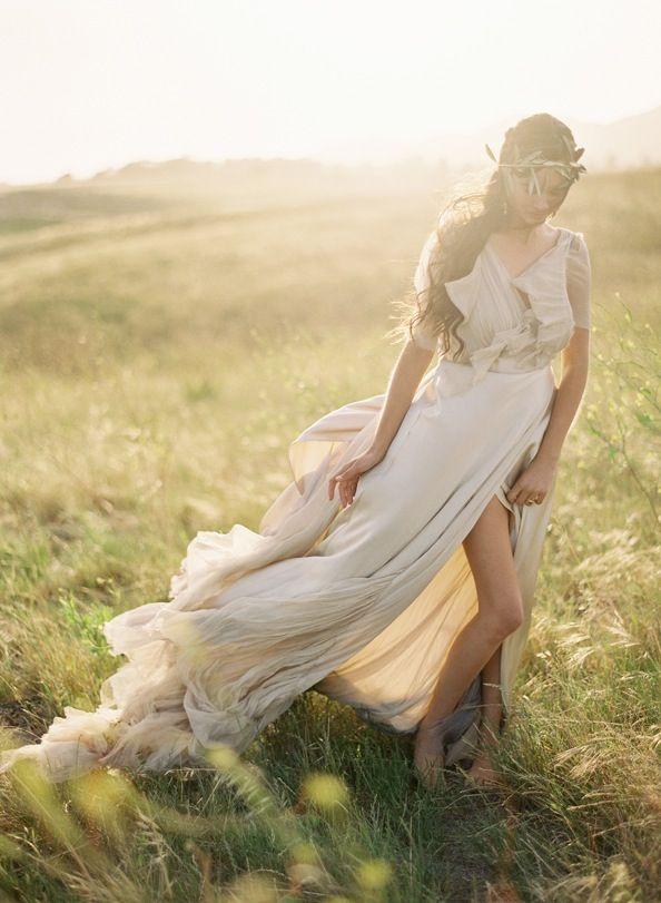 Greek goddess wedding inspiration once wed Goddess of nature greek